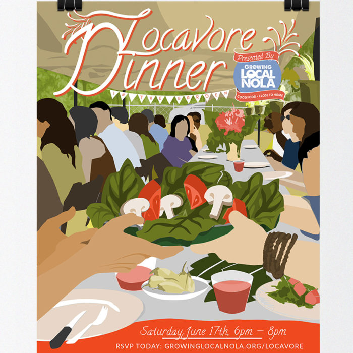 New Orleans Locavore Dinner 2016