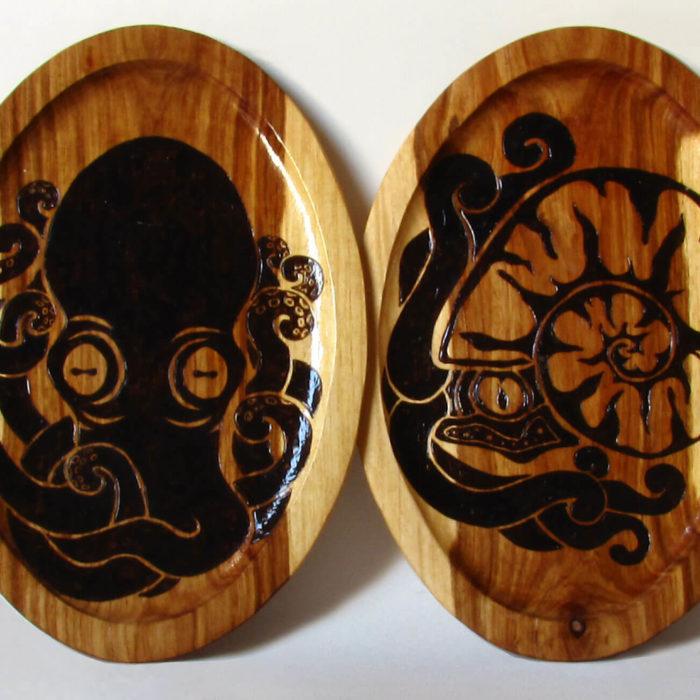 Ocean Life Platters